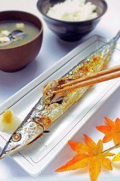 さんま焼き魚