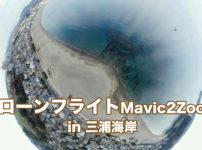 ドローン飛行in三浦