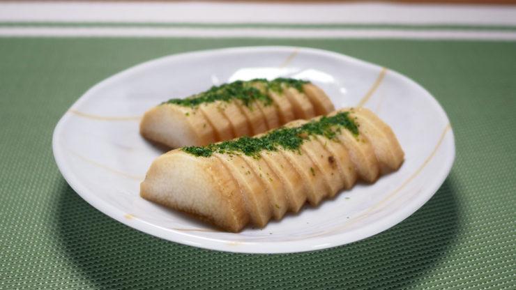 大和芋の醤油漬け